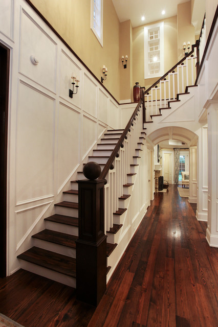 Memorial Hamptons Style  Traditional  Staircase