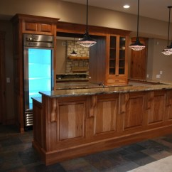 Used Kitchen Cabinets Chicago Basket Hickory