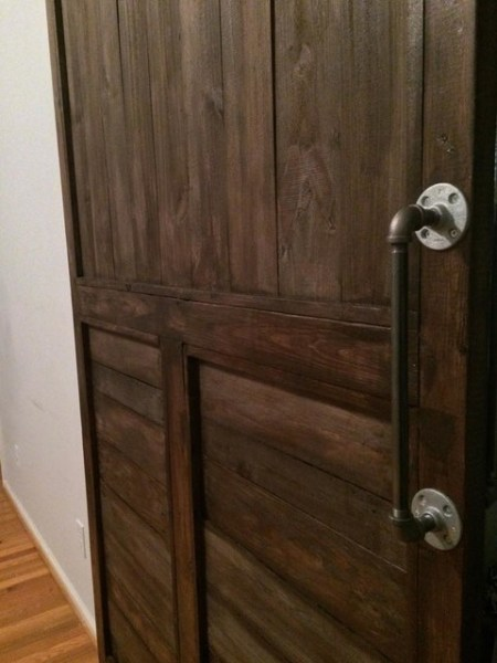 rustic bedroom closet doors Interior Barn Doors - Rustic - Bedroom - wilmington - by Upcycled Market