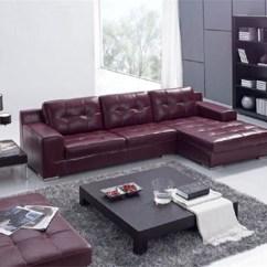 Polaris Contemporary Leather Sofa Set Risers Walmart Exquisite Italian Living Room Furniture ...