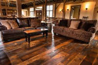 Reclaimed Barn Wood Flooring/Old Dirty Top