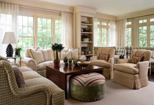 traditional living room interior design Living Room 5 - Traditional - Living Room - new york - by Lauren Ostrow Interior Design, Inc