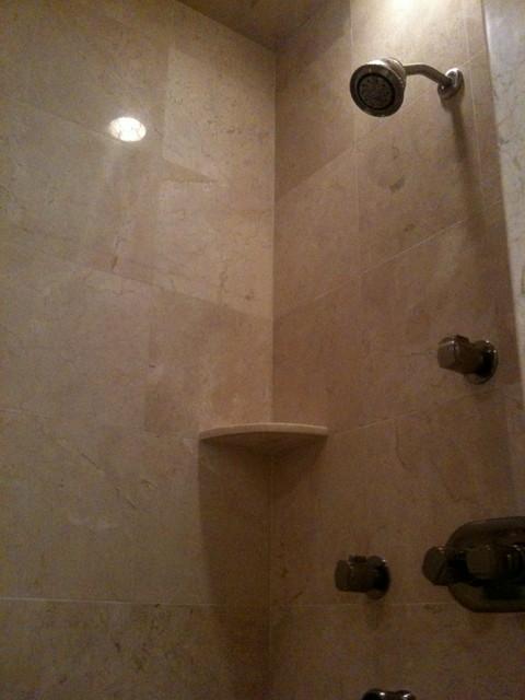 Botticino Marble Bathroom  Traditional  Bathroom  other
