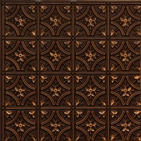 "Gothic Reims - Faux Tin Ceiling Tile - Glue up - 24""x24 ..."