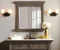 Omega Bathroom Collection - Rustic - Bathroom Mirrors ...