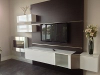 TV Mounting Ideas - Modern - Family Room - detroit - by ...
