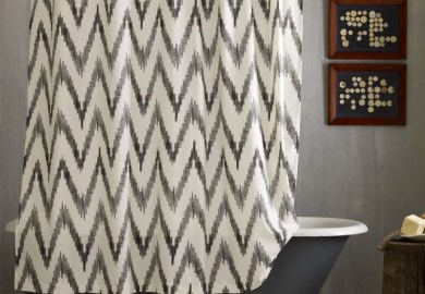 West Elm Chevron Curtains