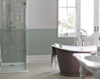 Bathroom tile configuration