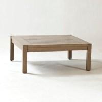 Alyssa Square Metal Outdoor Coffee Table - Traditional ...