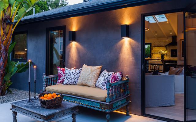 exterior eclética por Lori Smyth design
