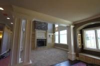 Living Room White Trim - Traditional - Living Room - cedar ...