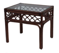 Rattan End Table - Naples - Tropical - Side Tables And End ...