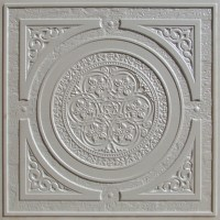 225 White Pearl Decorative Ceiling Tile 24x24