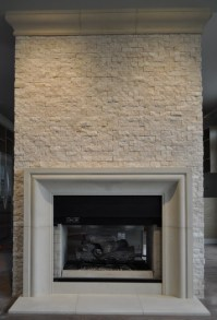 CAST STONE FIREPLACE MANTELS - Contemporary - Family Room ...