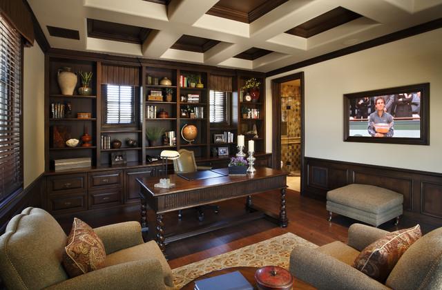 Home Office Design Traditional Novocom Top