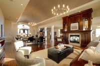 Open Concept Home - Contemporary - Living Room - calgary ...