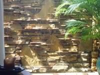 Water wall, waterfall, fountain - Contemporary - Patio ...