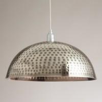 Hammered Metal Pendant Lamp - Contemporary - Pendant ...