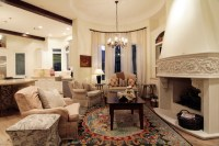 Keeping Room Off The Kitchen - Traditional - Living Room ...