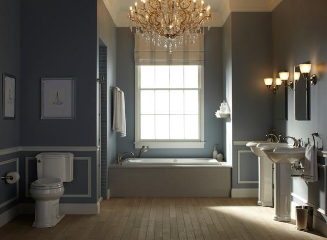 Nautical Blue Bathroom  Traditional  Bathroom  other