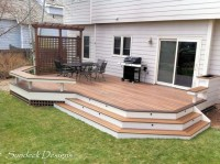 Ground level Evergrain deck - Deck - other metro - by ...