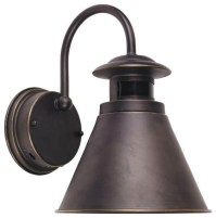 Outdoor Wall Lantern with Motion Sensor, Oil Rubbed Bronze ...