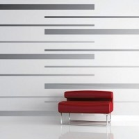 Room Stripes Vinyl Wall Decals - Modern - Wall Decals ...