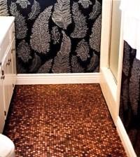 Modwalls Real Penny Mosaic - Eclectic - Flooring - san ...