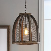 Large Chicken Wire Pendant - Pendant Lighting - by Shades ...