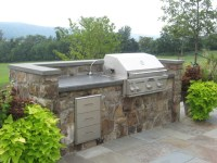 Grill - Modern - Patio - dc metro - by Poole's Stone and ...