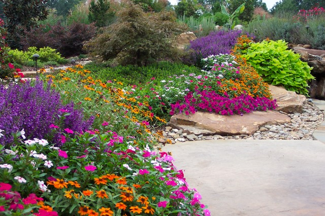 Superior Flower Gardens In South   Traditional