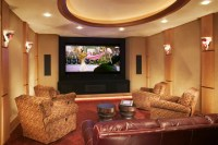 Home Theater - Contemporary - Home Theater - minneapolis ...