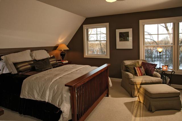 Arts & Crafts Master Bedroom