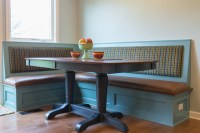Bench seating and dining table