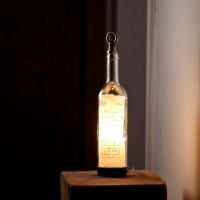 Wine Bottle Oil Lamps. Wine Bottle Lamp Contemporary Table ...