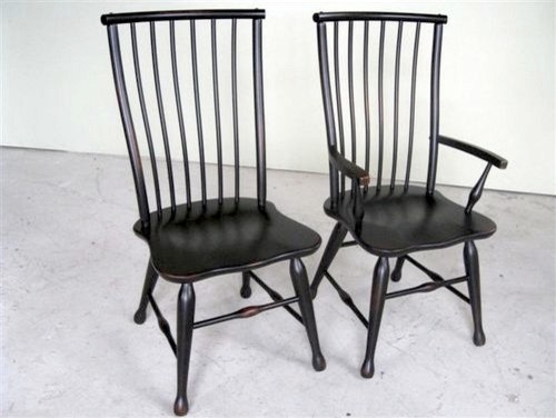 Black Forest Style Dining Chair  Farmhouse  Dining Chairs  boston  by ECustomFinishes