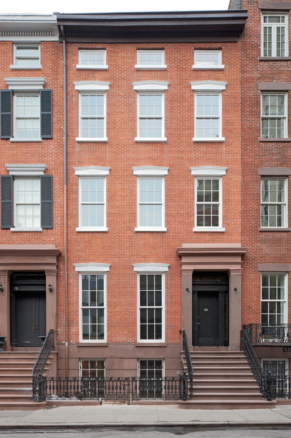 Greenwich Village Townhouse  Traditional  Exterior  new