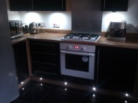 Under unit and plinth lighting