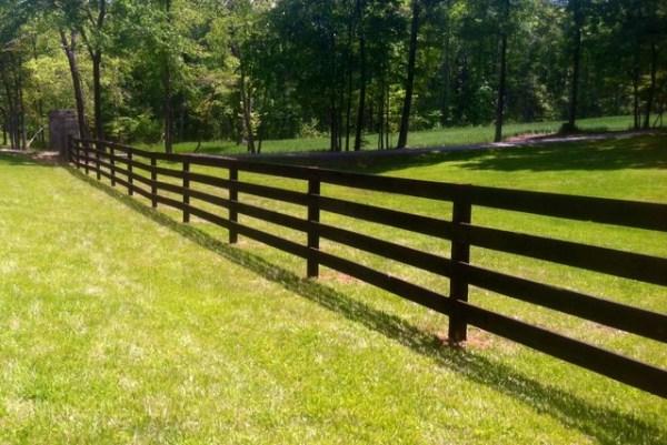 farm fence - rougemont nc modern