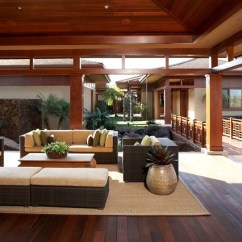Outdoor Kitchen Pavilion Designs Tables With Storage Knudson Interiors - Asian Exterior Hawaii By ...