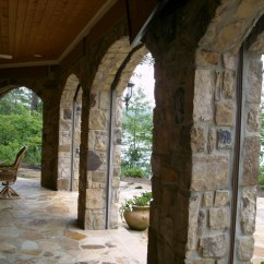 Patio Rocker Chair Recliner Covers Nz Phantom Retractable Screens In Stone Archway
