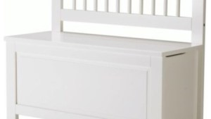 HEMNES Storage Bench Scandinavian Accent And Storage