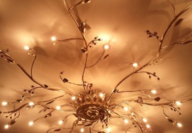 Modern Chandelier Table Lamp