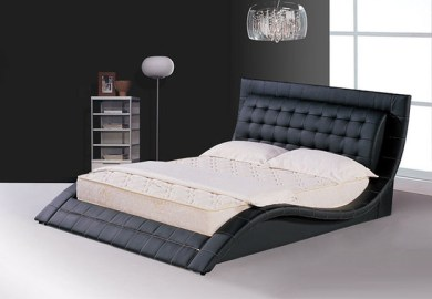 Modern Black Bed Frame
