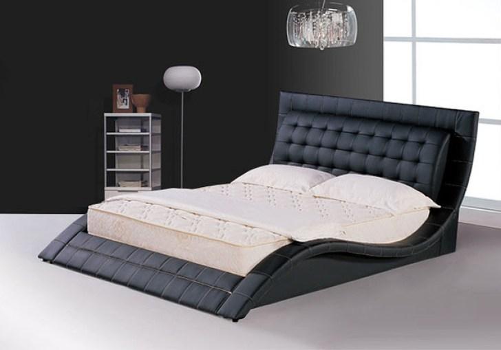 Modern Black Bed Frame