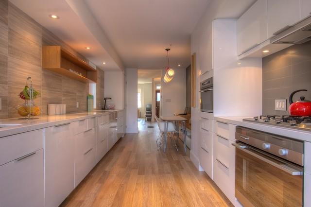 Queen West Victorian Row House  Modern  Kitchen