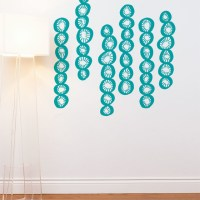 On Sale Juste in Teal Wall Decal