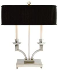 Laurent Bouillotte Lamp (Silver)