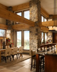 Rustic Stone Kitchen