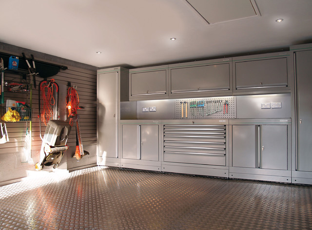 Dura  fitted garages  Contemporary  Garage And Shed